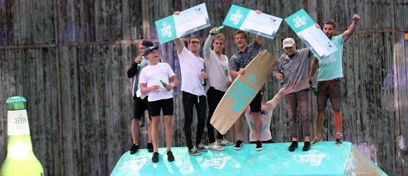 Nachbericht:  Pangea - Jever FUN Wake the City Contest
